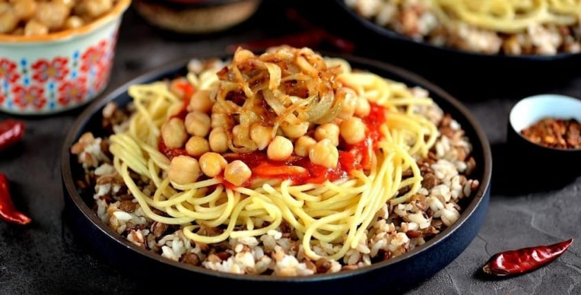 How To Make Authentic Egyptian Kushari Koshari 15
